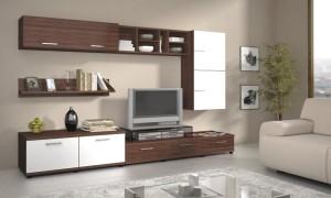Сборная мебель в гостиной — общие рекомендации