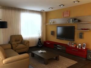 гостиная 19 кв м