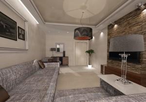 интерьер гостиной 19 метров