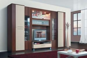 пристенная мебель для гостиной