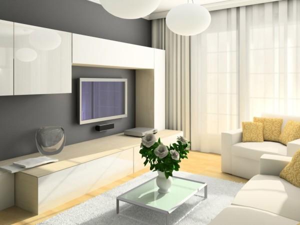 дизайн гостиной комнаты 19 кв м