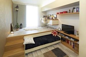 Как сделать подиум в комнате для гостей своими руками