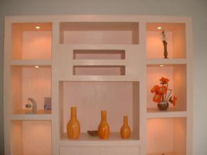 Изготовление ниши из гипсокартона своими руками в гостиной