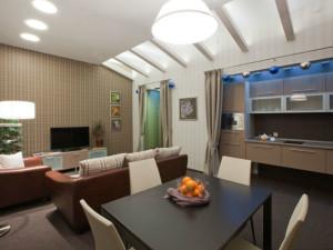 оформление кухни-гостиной 15 кв метров