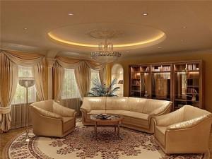 гостиная в шикарном стиле