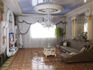 создание уютной гостиной