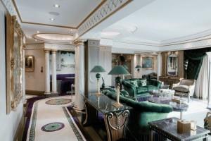 шикарная комната для приема гостей