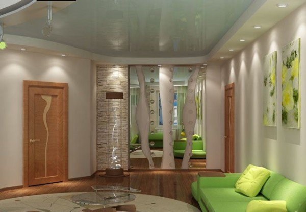 проходная комната дизайн интерьера