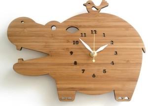 часы в эко-стиле