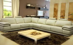 мягкая модульная мебель в гостиной