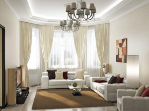 дизайн красивой гостиной