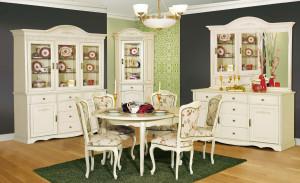 Мебельный гарнитур в интерьере гостиной