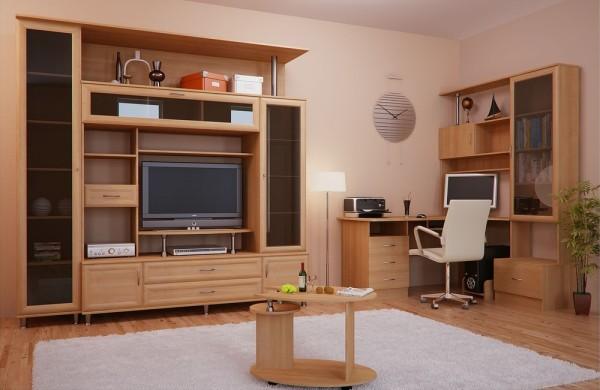 мебельный гарнитур в гостиной