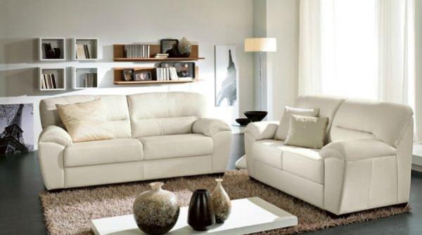 два дивана в интерьере гостиной