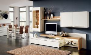 Немецкая мебель в гостиной