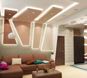 дизайн гостиной прихожей