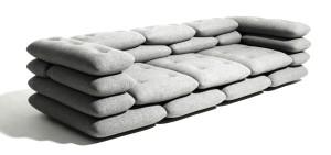необычный дорогой диван