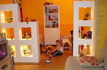 интерьер гостиной совмещенной с детской